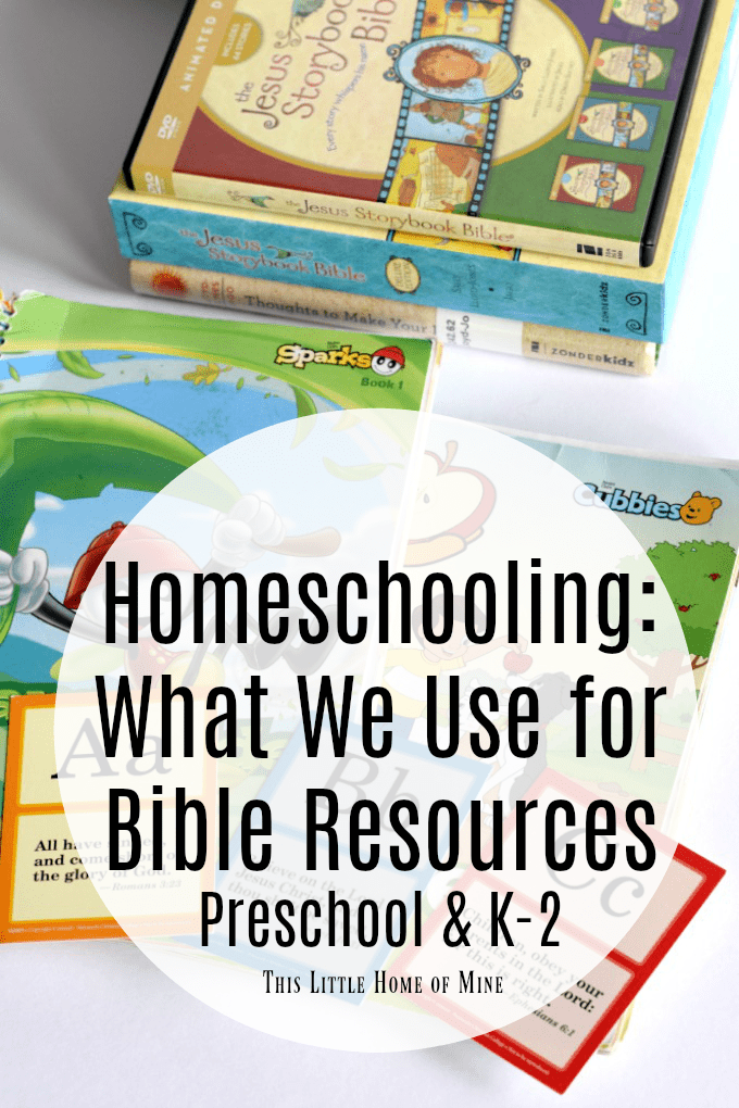 Bible Curriculum Resources for Homeschooling