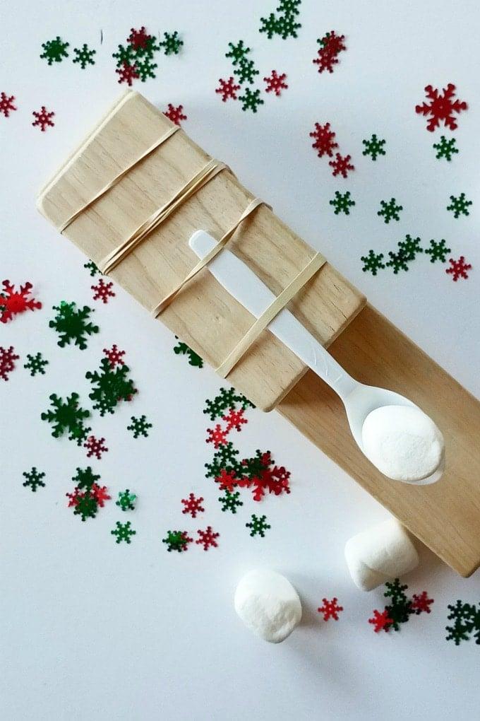 Christmas STEM: Snowball Launcher