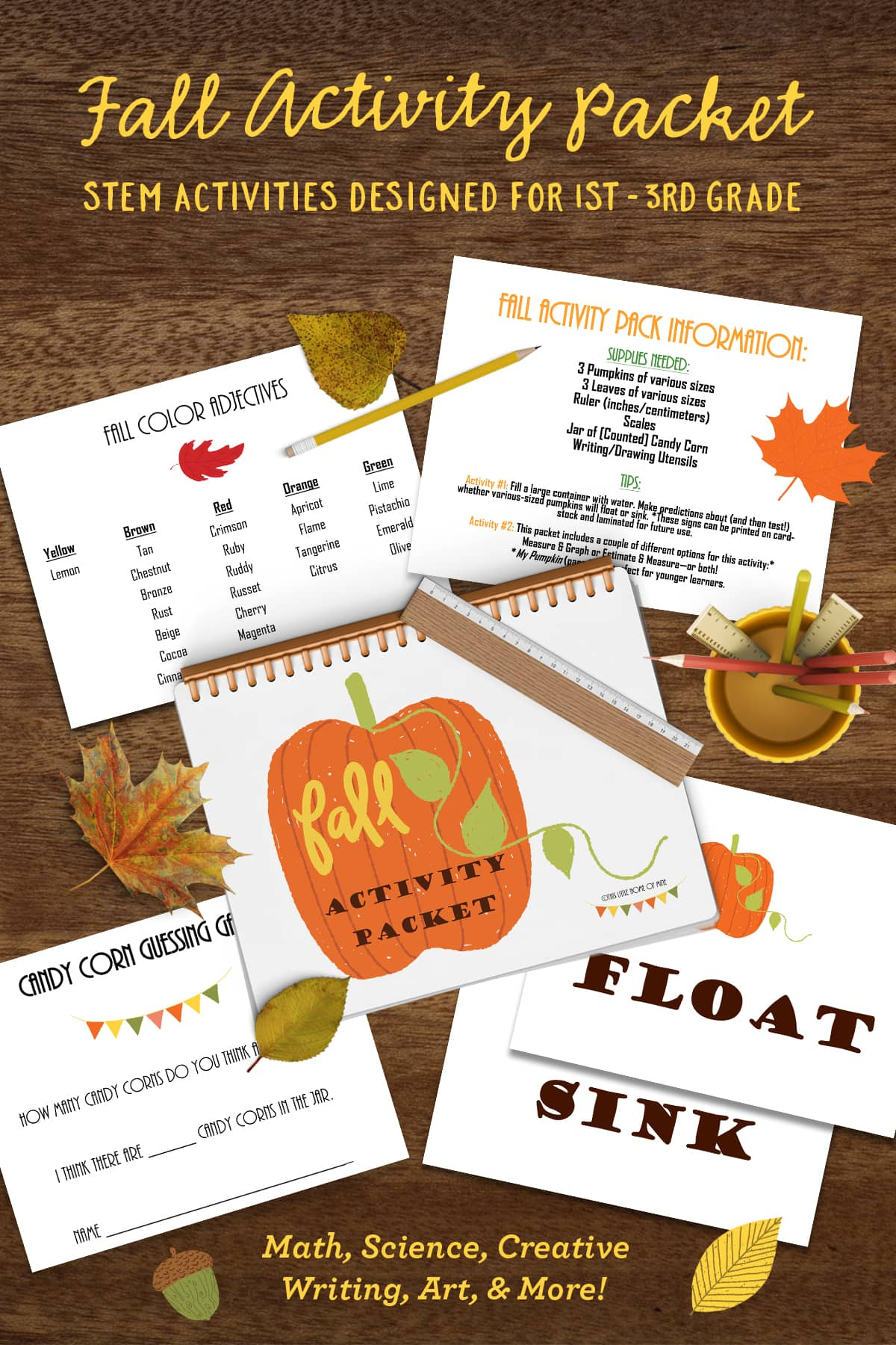 Fall-Themed STEM Activity Packet