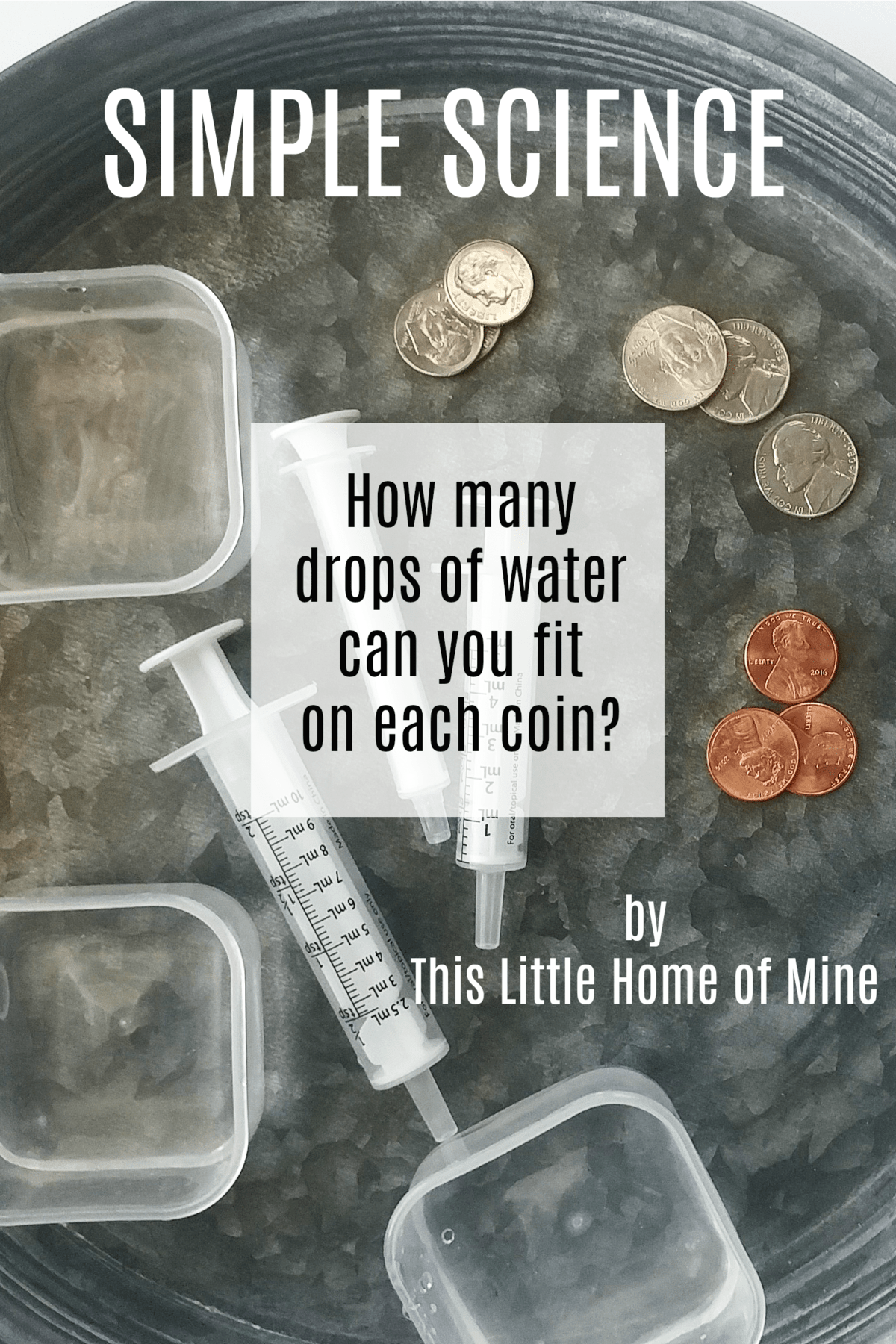 Simple Science: Drops of Water on a Coin