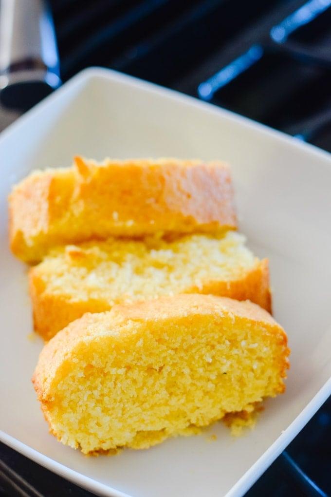 World's Best Cornbread Recipe - Honey Cornbread This Little Home of Mine