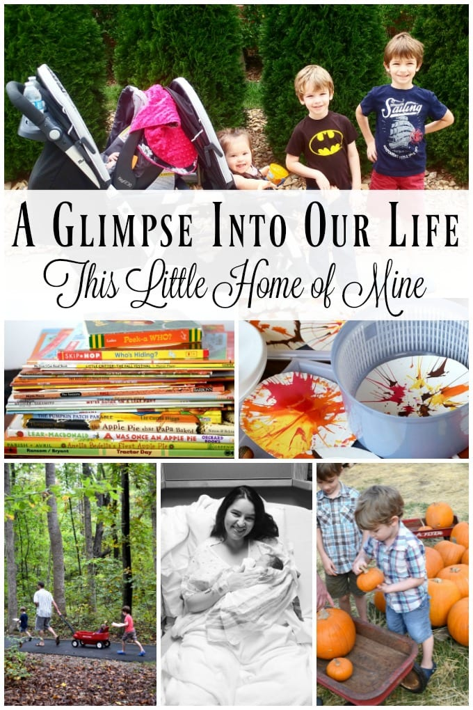 A Glimpse Into Our Life: October & November