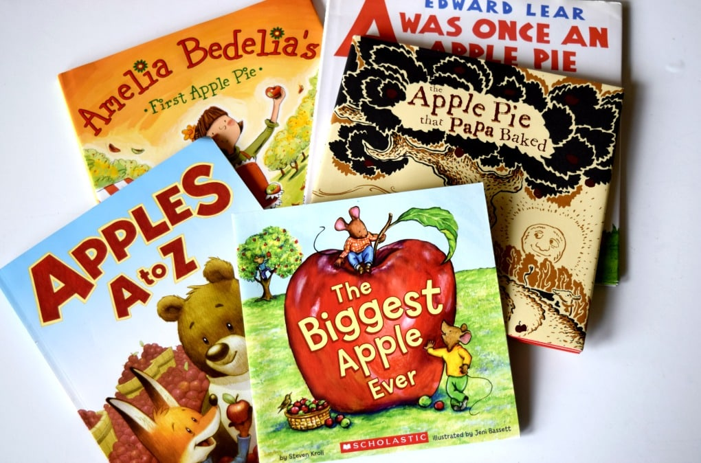 Our Favorite Fall Books for Kids: Apples - by This Little Home of Mine