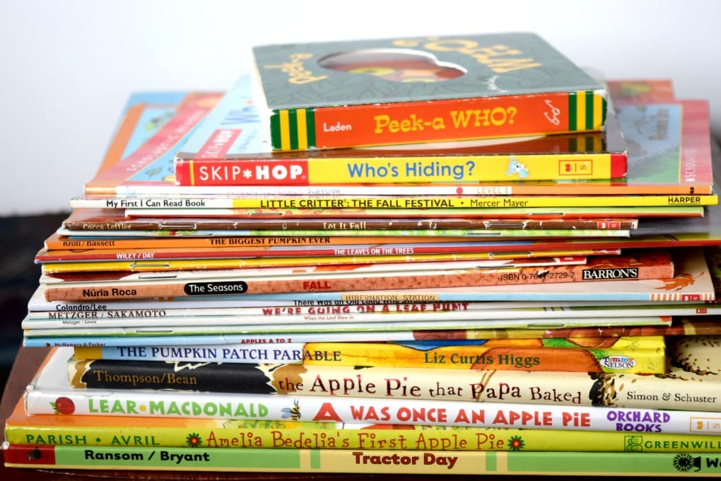 Our Favorite Fall Books for Kids by This Little Home of Mine