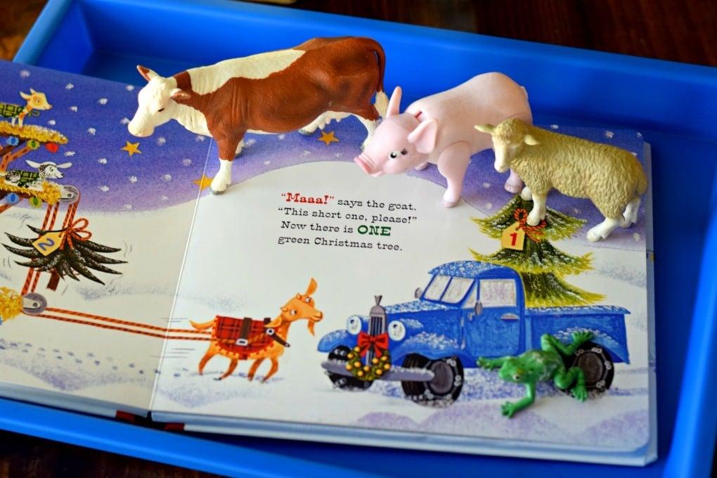 Little Blue Truck's Christmas - Preschool Activities - This Little Home of MineLittle Blue Truck's Christmas - Preschool Activities - This Little Home of Mine