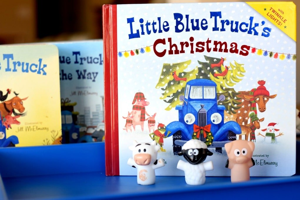 Little Blue Truck's Christmas - Preschool Activities - This Little Home of Mine