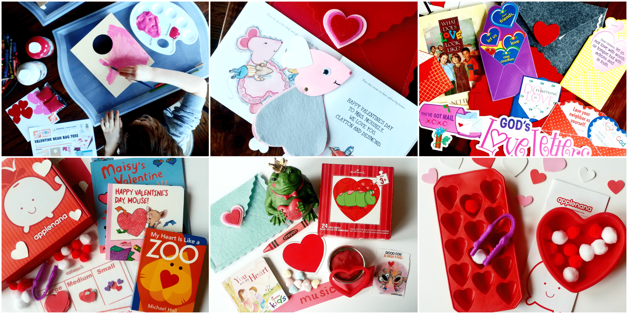 Valentine's Day Books and Other Activities for Kids by This Little Home of Mine