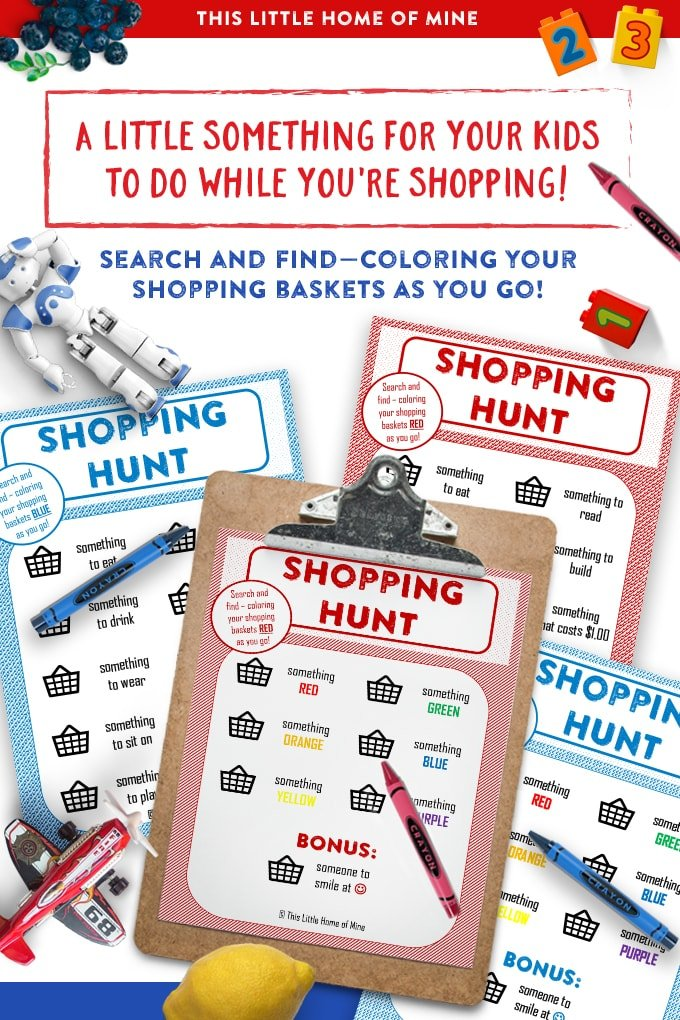 Search-and-Find Shopping Hunts