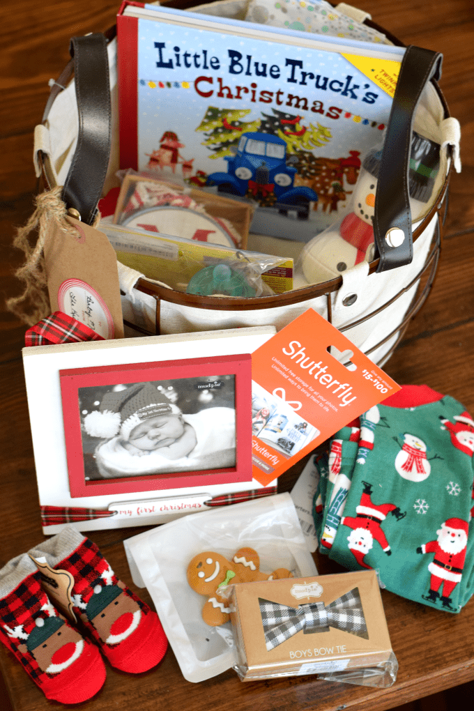Shower Gift Idea: Our First Christmas & Baby's First Christmas