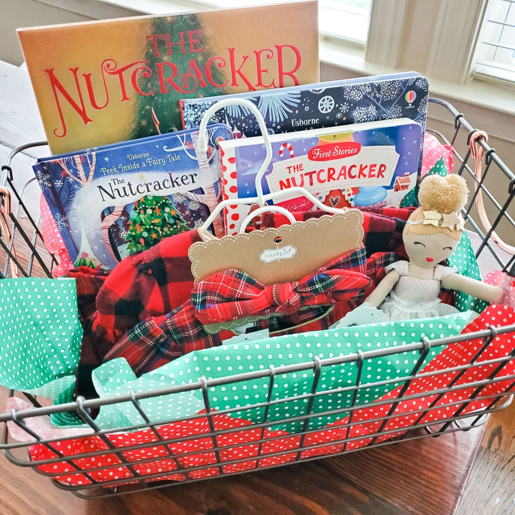 Baby's First Christmas Basket