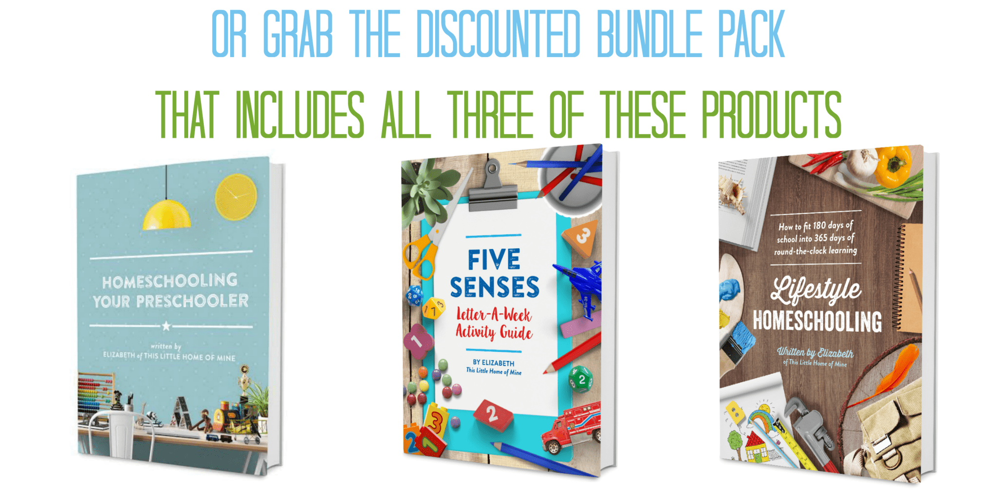 Lifestyle Homeschooling Bundle Pack - This Little Home of Mine