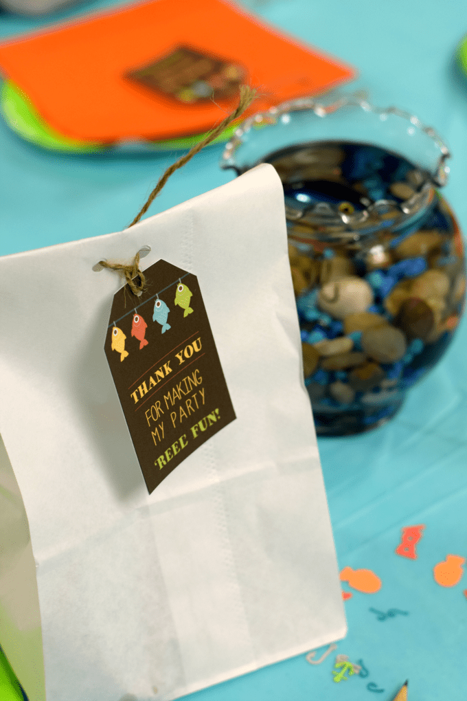 Fishing-Themed Baby Shower - Party Favor - This Little Home of Mine