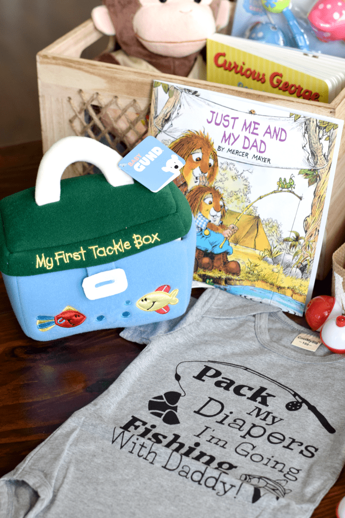 Fishing-Themed Baby Shower - Baby Gift - This Little Home of Mine