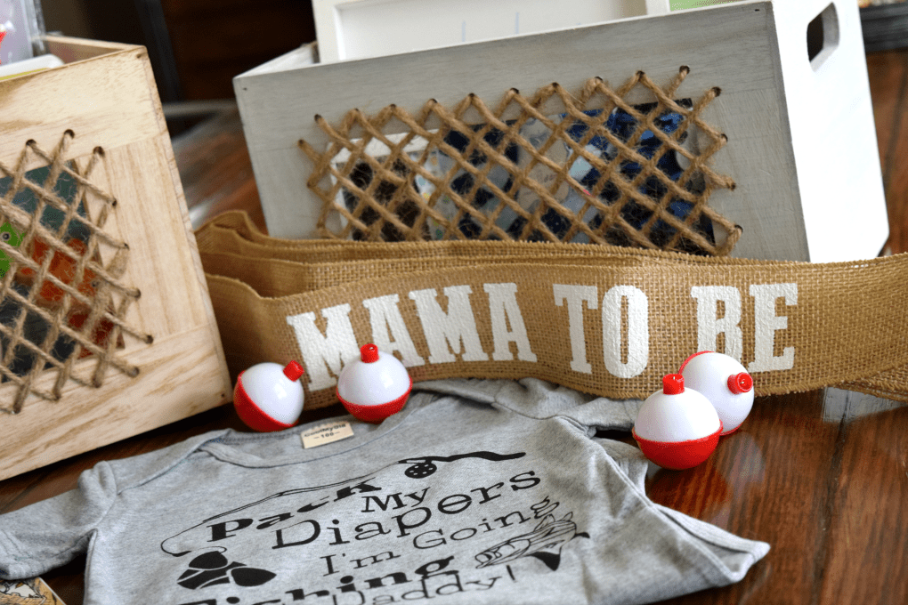 Fishing-Themed Baby Shower - Mama to Be Sash - This Little Home of Mine