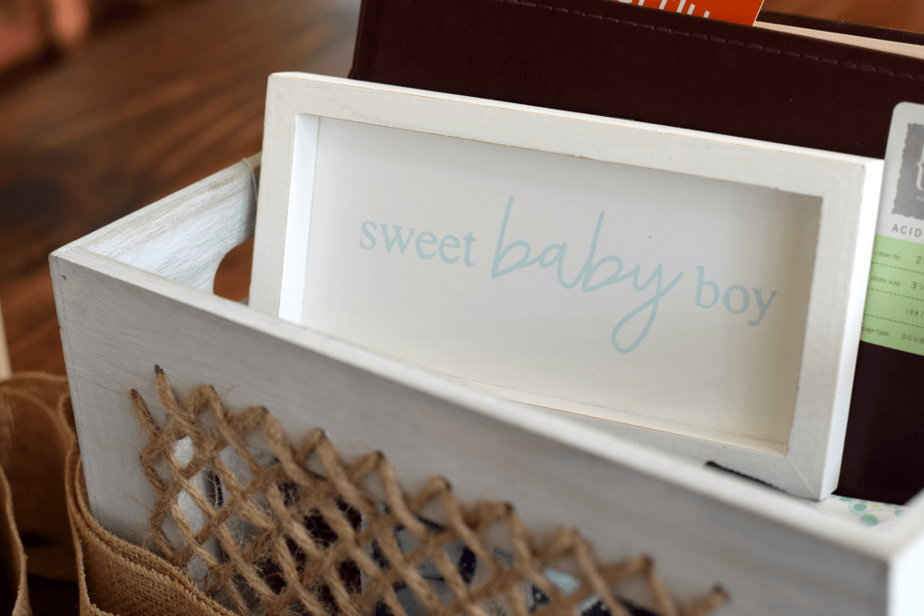 Fishing-Themed Baby Shower - Sweet Baby Boy - by This Little Home of Mine