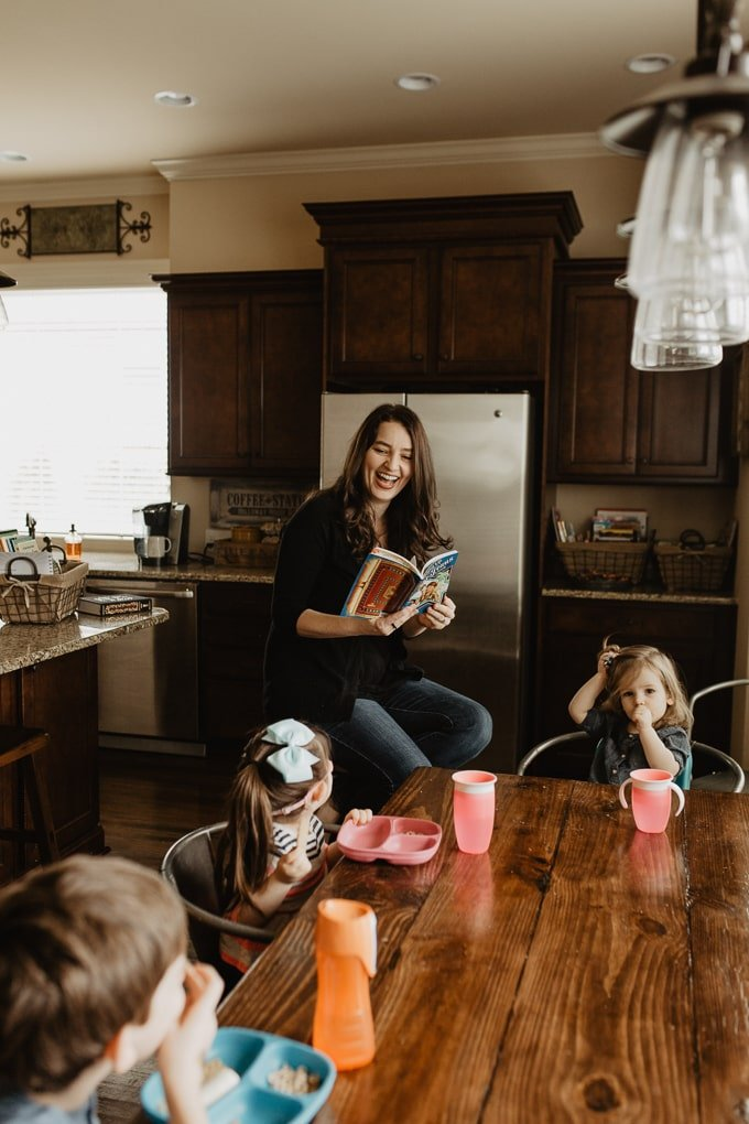 The Family that Reads Together