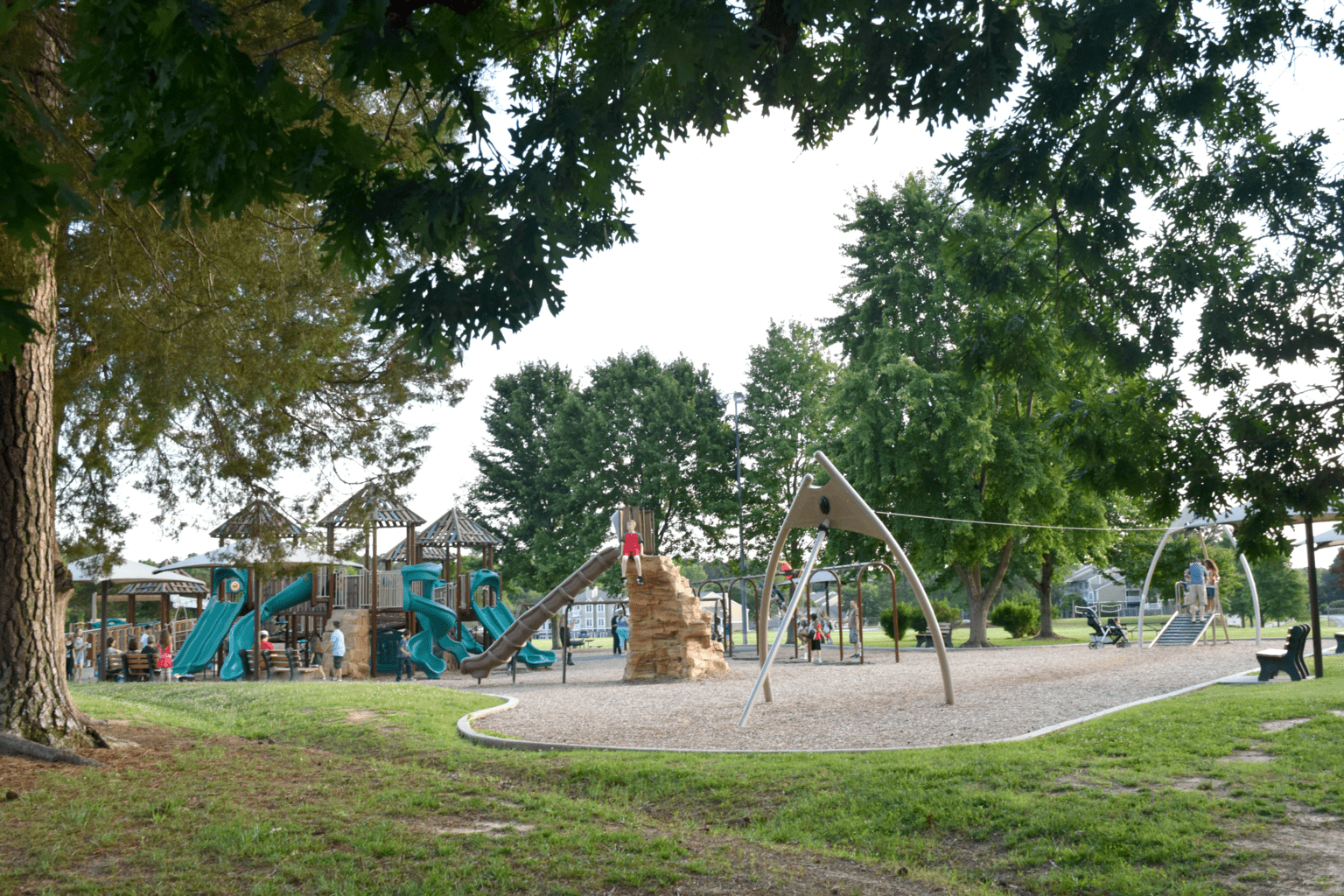Family Field Trip to Williamsburg, VA - Veteran's Park
