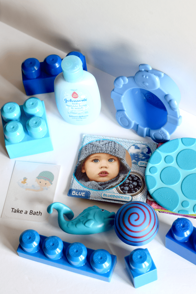 Color Baths - How to Teach Colors to a Baby or Toddler