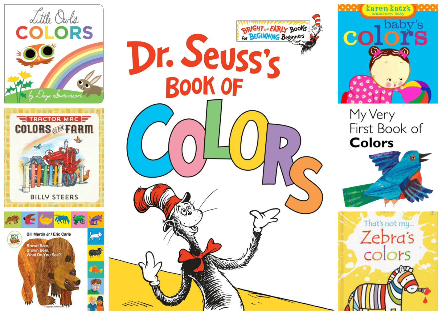Color Bath - How to Teach Colors to a Baby or Toddler - Fun Color-Themed Books