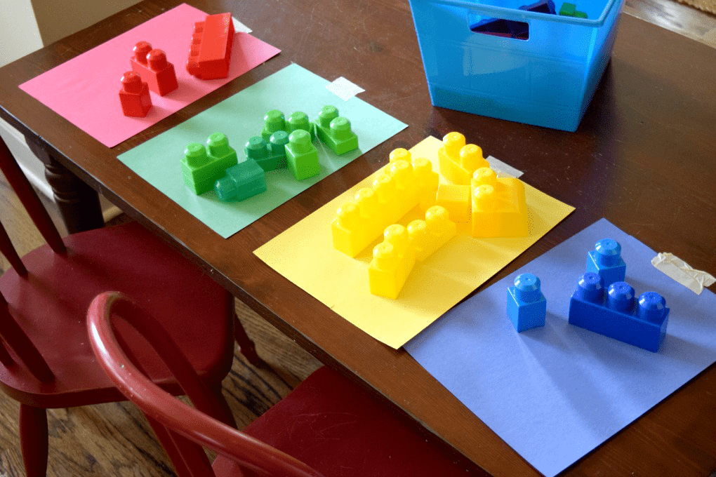 Lego Color Sorting Activity