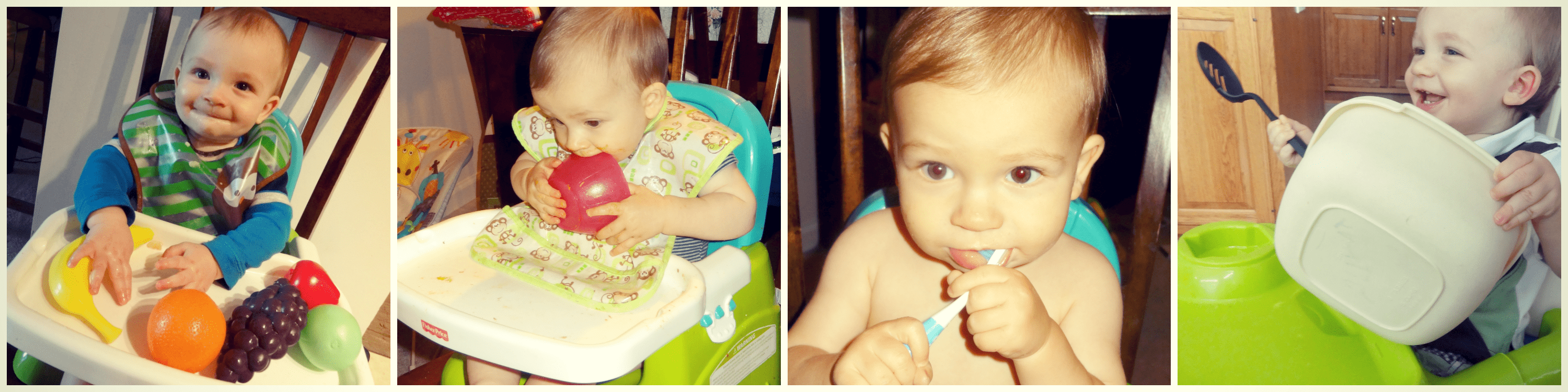Learning through Play - Baby Toys - In Highchair