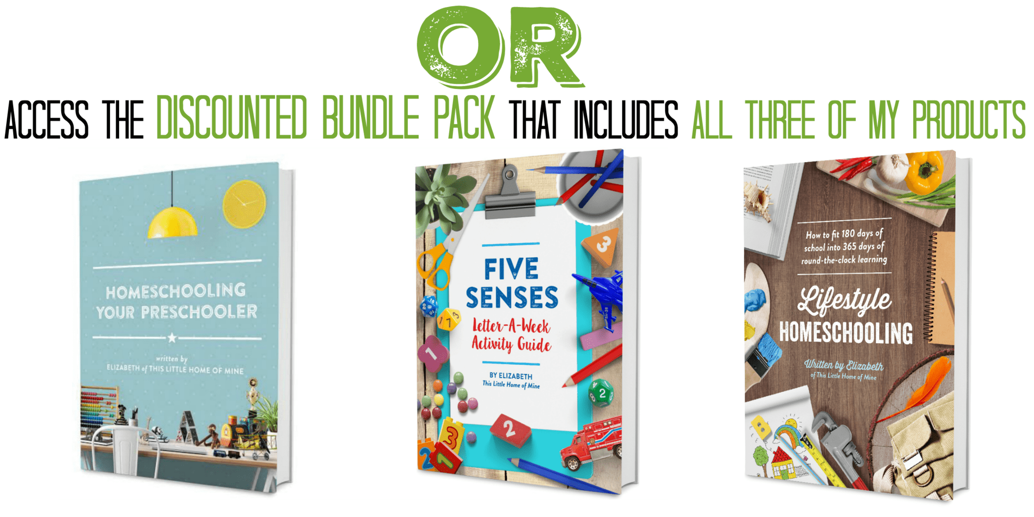 This Little Home of Mine - Ebook Bundle Pack of Homeschooling Resources