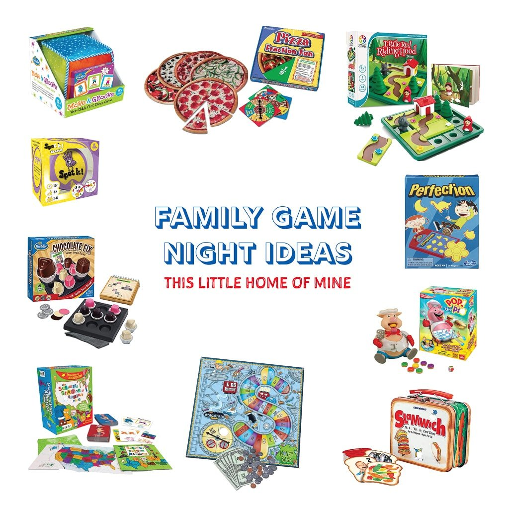 Family Game Night - This Little Home of Mine