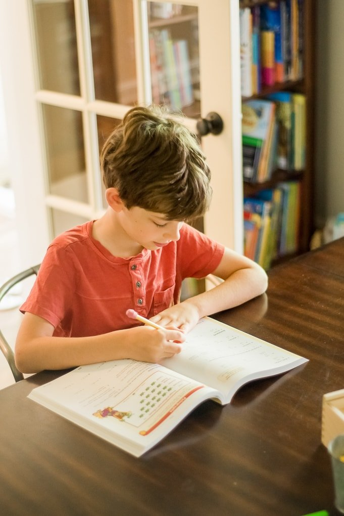 Homeschooling Fourth Grade - This Little Home of Mine