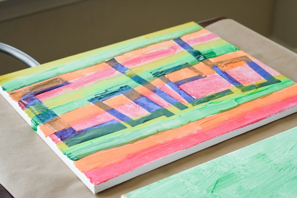 Name Painting Activity for Kids