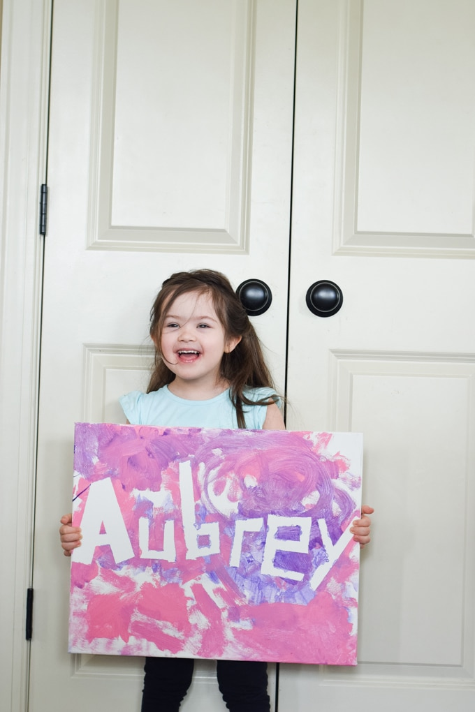 Name Painting Activity