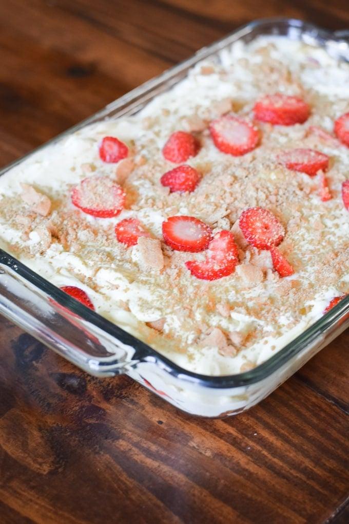 Summer Strawberry Dessert