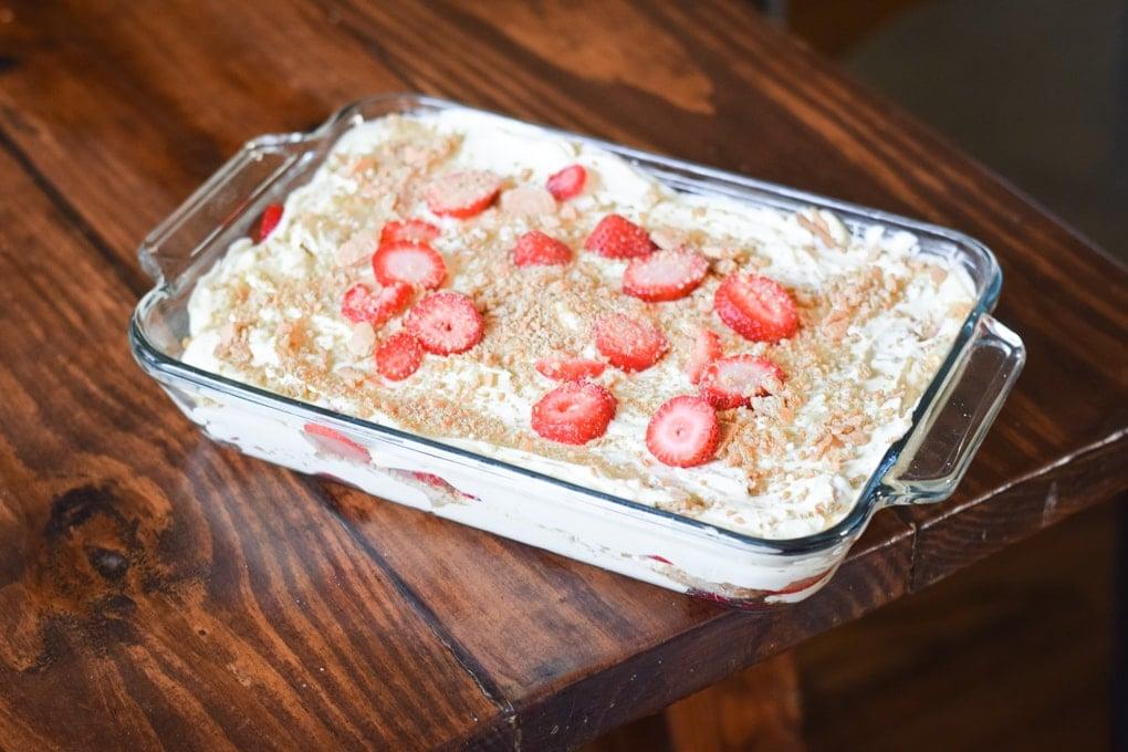 Summer Strawberry Dessert Recipe