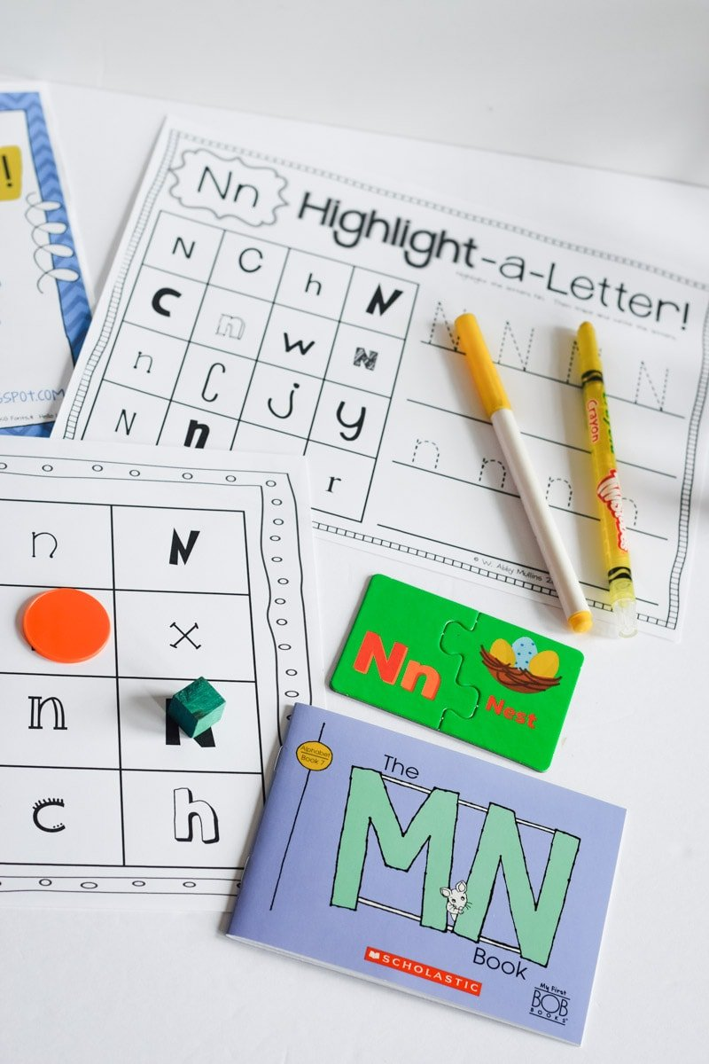 ABC Activities for Early Learners