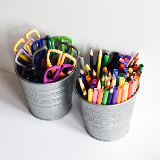 Homeschool Prep for a New Year - Colored Pencils