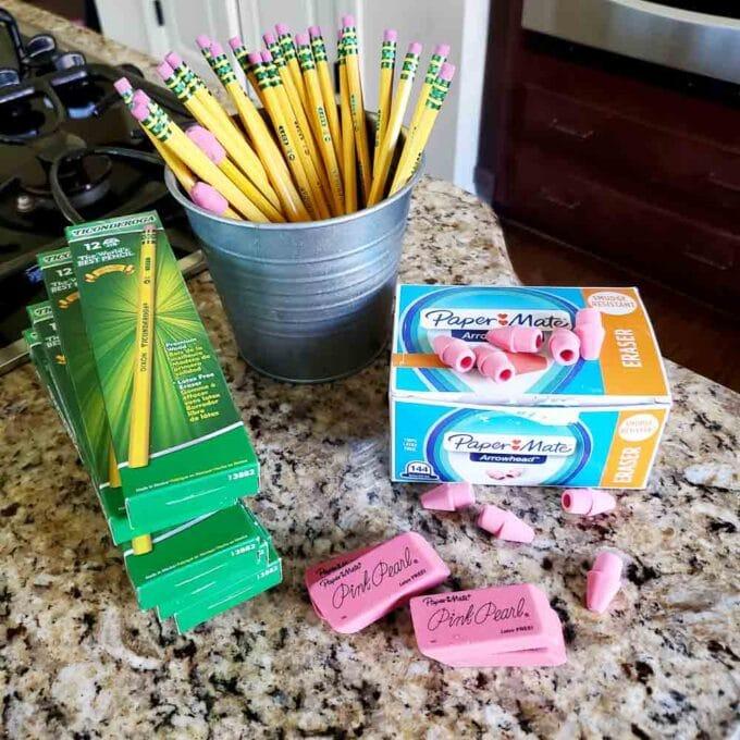 Homeschool Prep for a New Year - Ticonderoga Pencils
