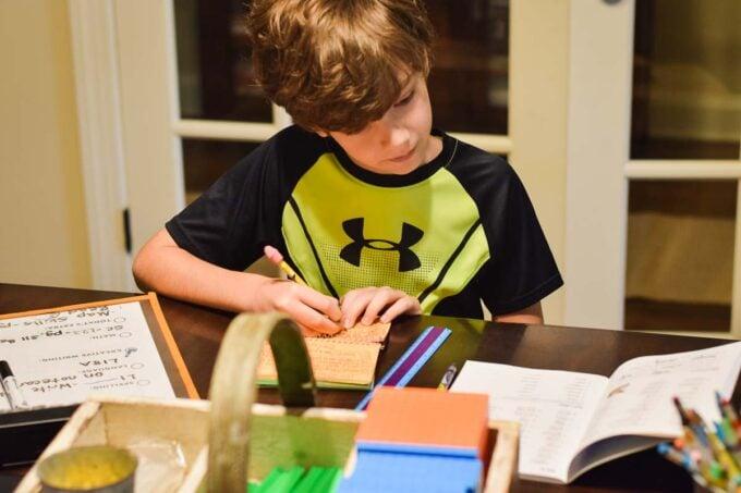 Homeschooling - First Day of School