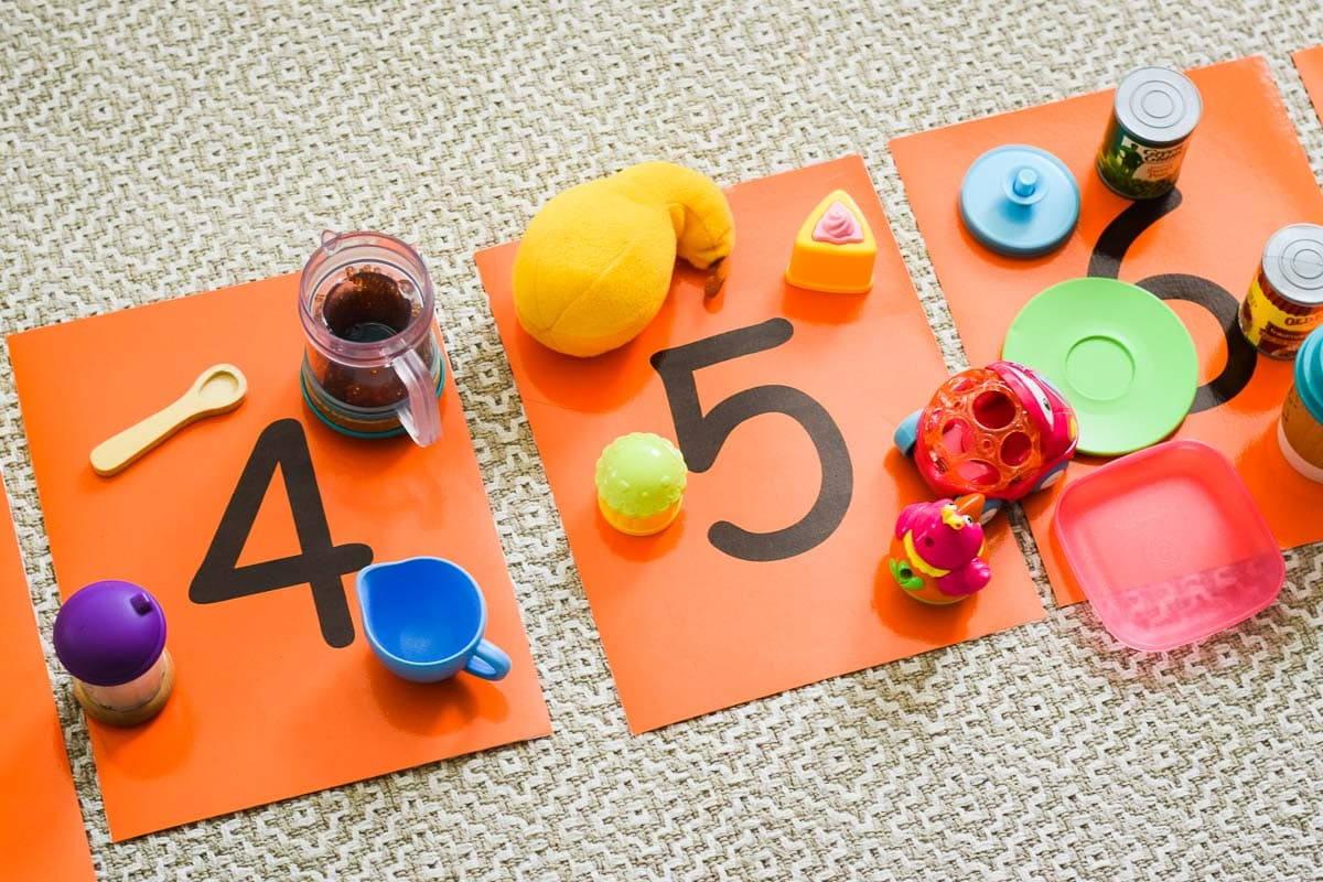 Sensory Learning: Whole Body Number Line
