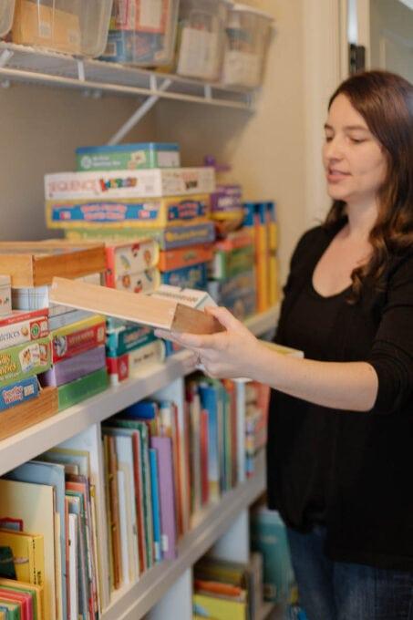 Organizing Homeschooling Supplies
