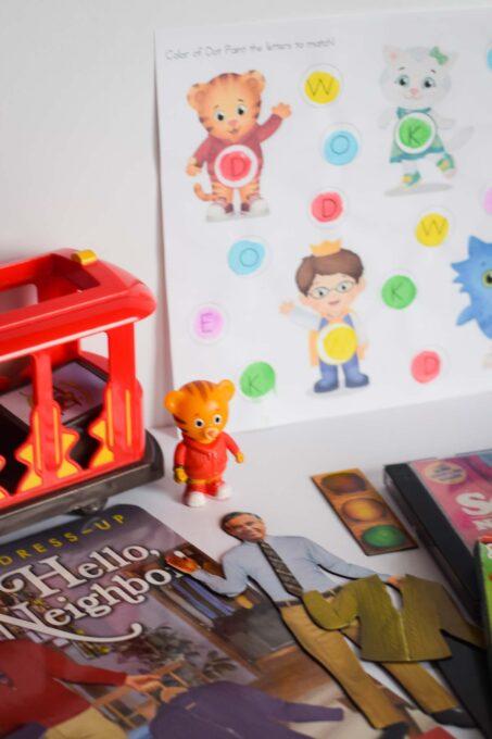 Daniel Tiger Favorites - Gift Ideas