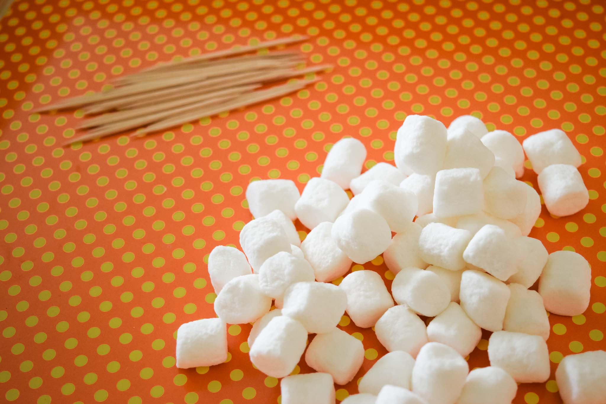 Shape Building with Toothpicks and Marshmallows