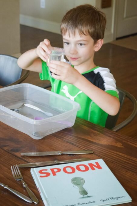 Spoon Book and Exploratory Play
